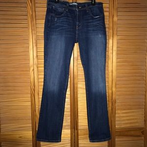 Levi 505 Straight Leg Jeans